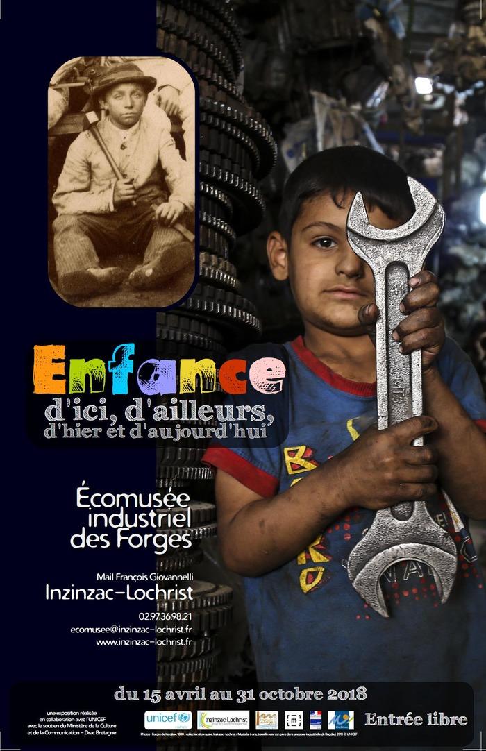 Journées du patrimoine 2018 - Exposition : Enfances... d'ici, d'ailleurs, d'hier et d'aujourd'hui.