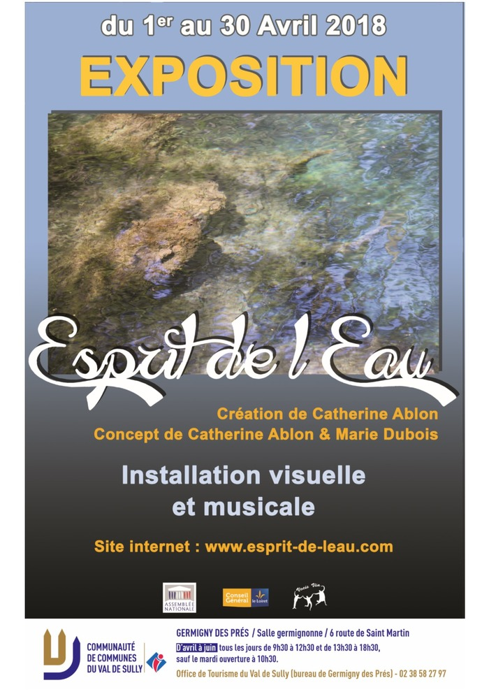 """Exposition """"Esprit de l'eau"""""""