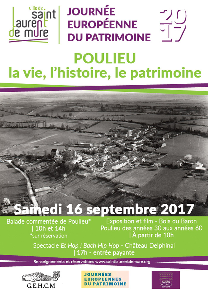 Journées du patrimoine 2017 - Exposition et film