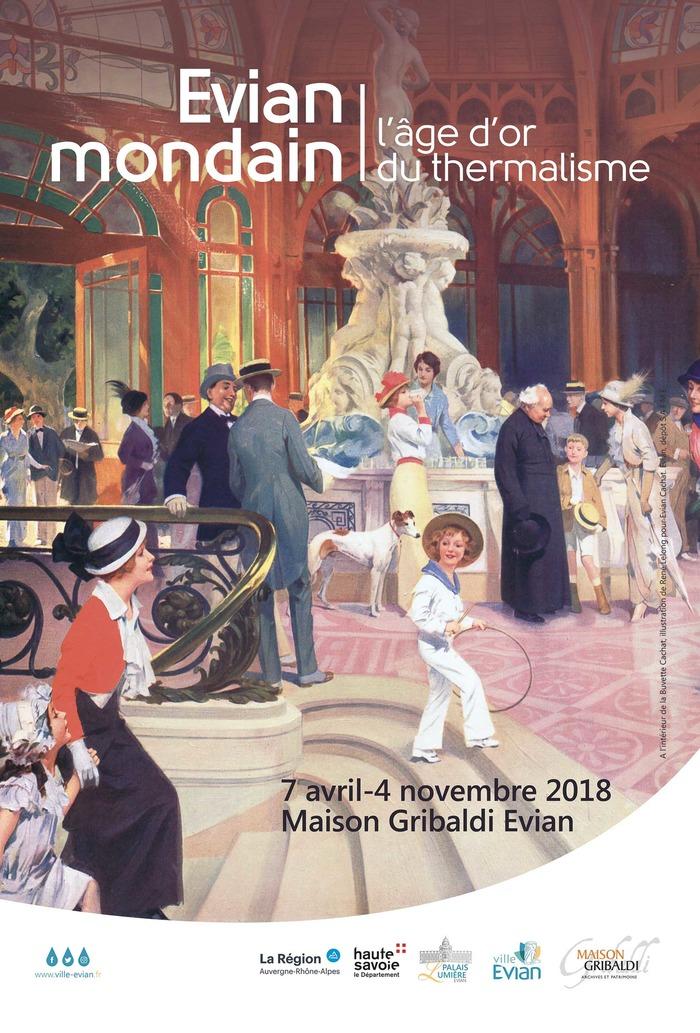 Journées du patrimoine 2018 - Exposition « Évian mondain, l'âge d'or du thermalisme »