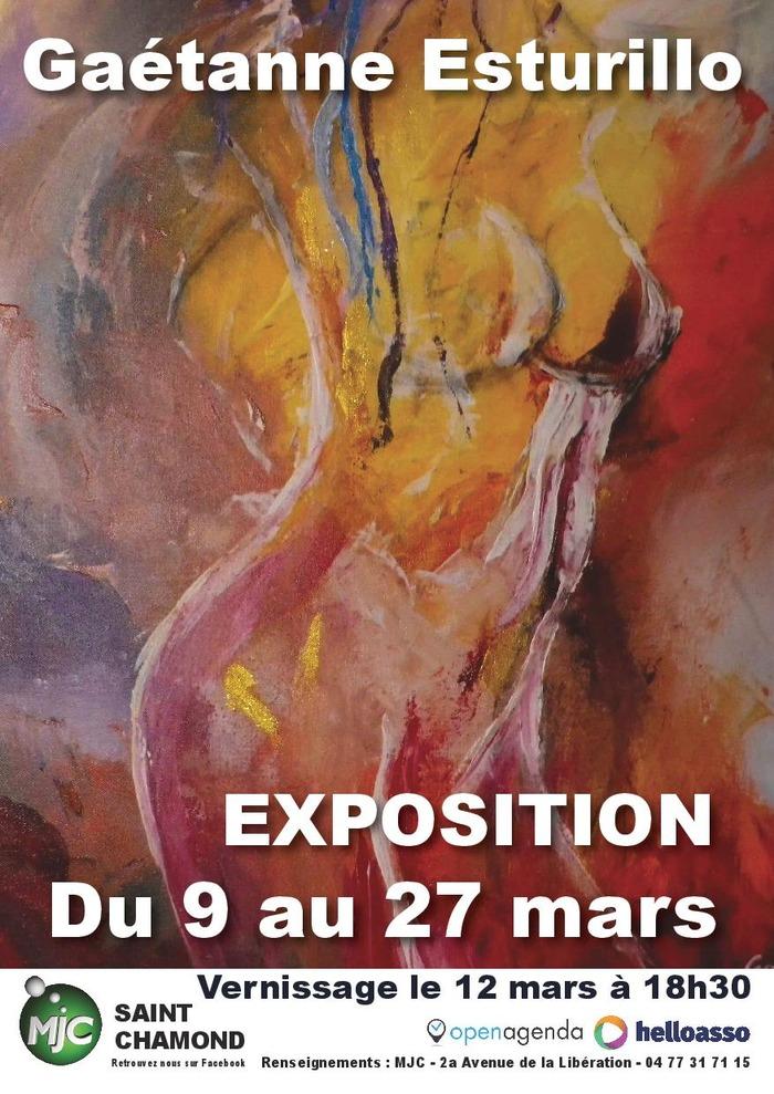 Exposition : Gaétanne Esturillo