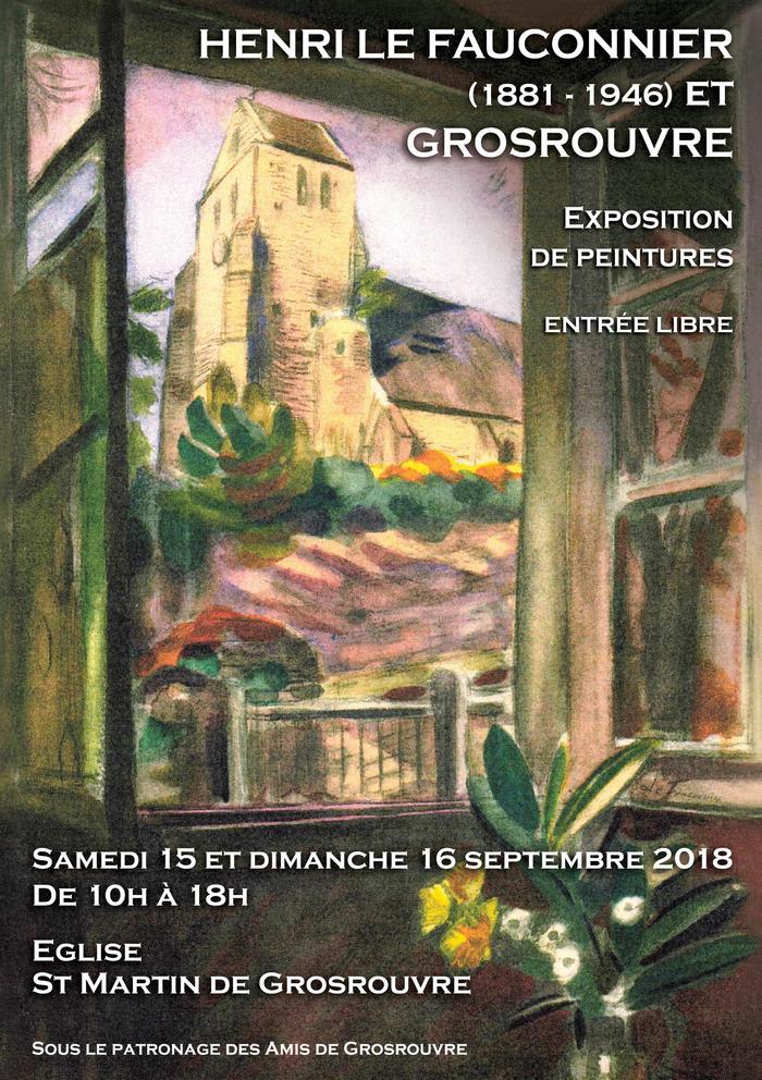 Journées du patrimoine 2018 - Exposition Henri le Fauconnier (1881-1946) et Grosrouvre - peintures