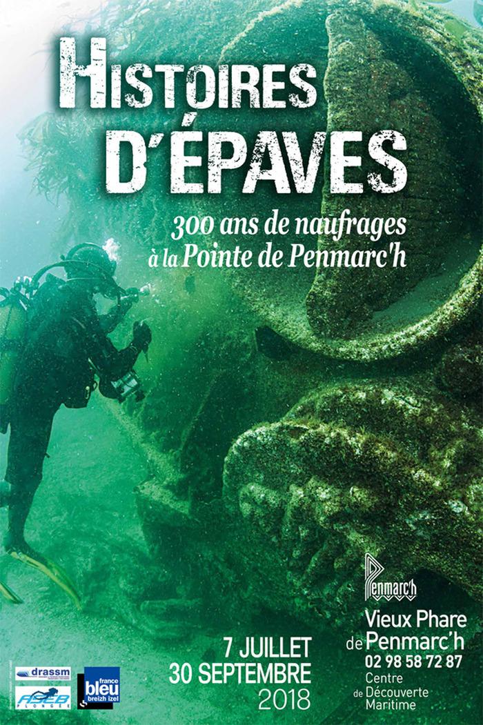 Journées du patrimoine 2018 - Exposition : Histoires d'épaves, 300 ans de naufrages à la Pointe de Penmarc'h