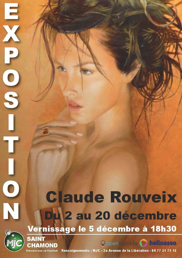 Exposition : Huile/Collage - Portraits de femmes