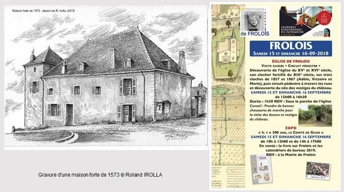 Journées du patrimoine 2018 - «Il y a 300 ans, le Comté de Guise» Exposition à la Mairie de Frolois