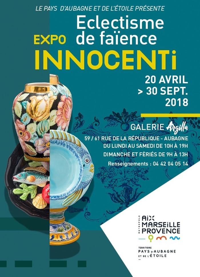 Journées du patrimoine 2018 - Exposition Innocenti « Éclectisme de faïence »