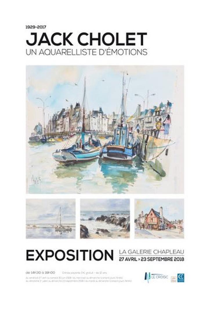 Journées du patrimoine 2018 - Exposition « Jack Cholet (1929-2017), un aquarelliste d'émotions »