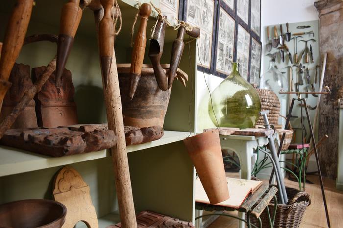Journées du patrimoine 2018 - Exposition « Jardins entre rêve et réalité » : présentation des outils anciens