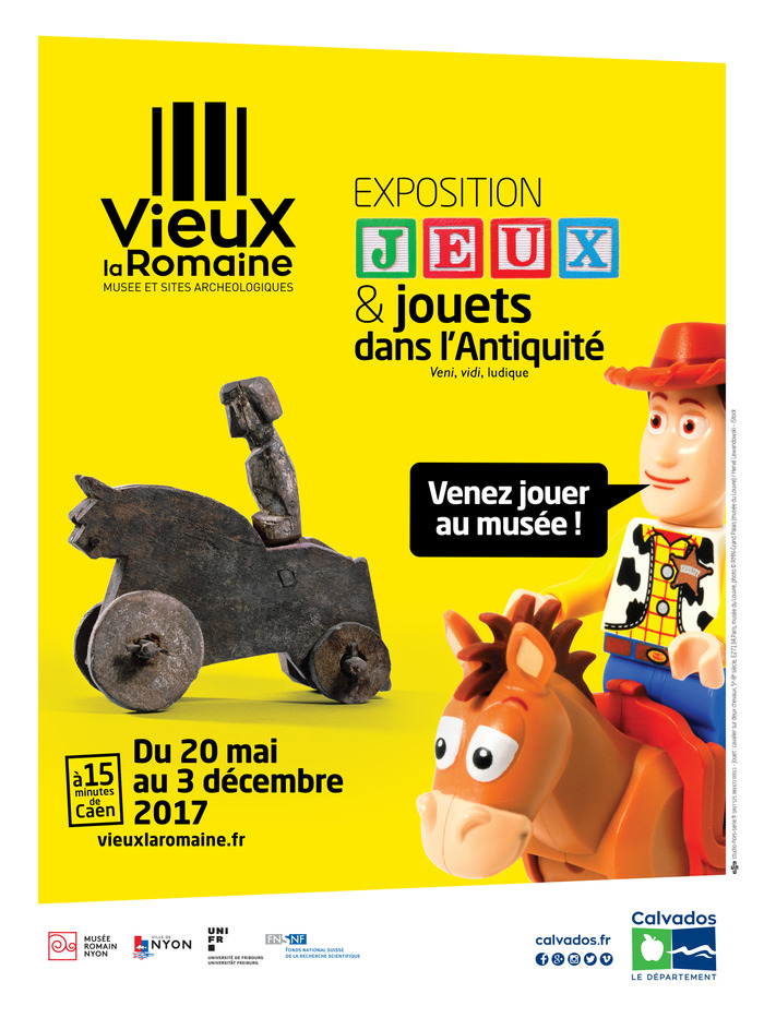 Journées du patrimoine 2017 - Exposition Jeux et Jouets dans l'Antiquité