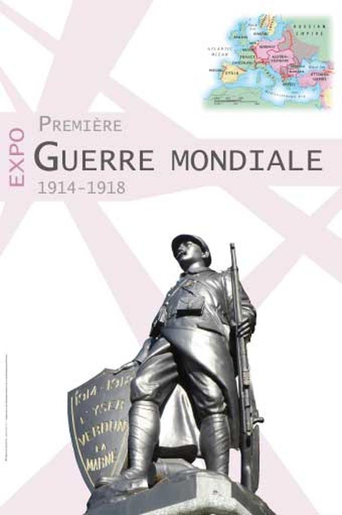 Journées du patrimoine 2018 - Exposition itinérante La Première Guerre mondiale 1914-1918