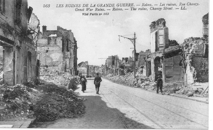 Journées du patrimoine 2018 - Exposition « Le retour à Reims en 1918 »