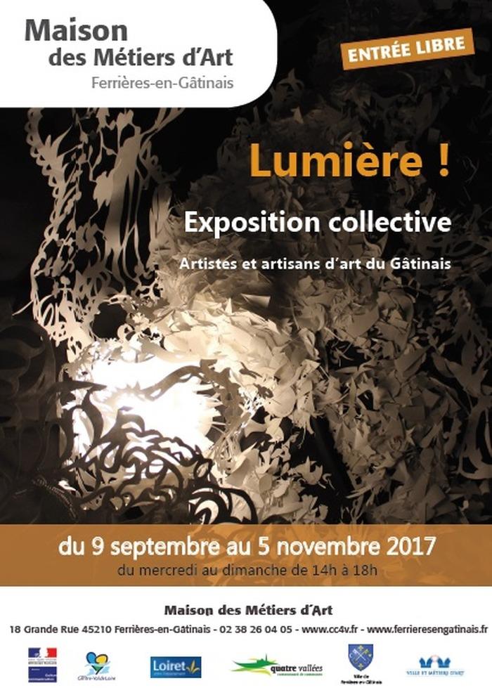 Journées du patrimoine 2017 - Exposition Lumière !