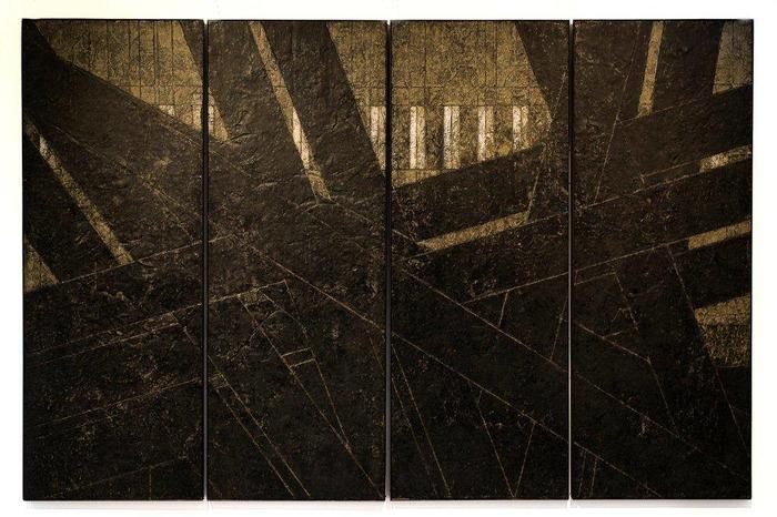 Exposition Martine Dubilé, ancrages