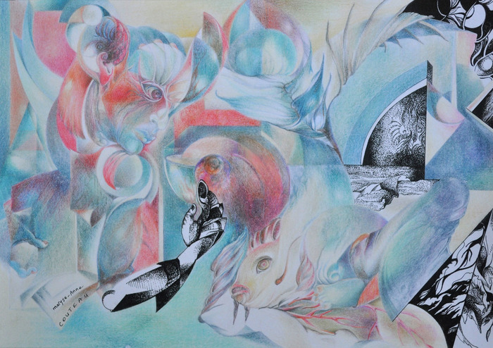 Journées du patrimoine 2018 - Exposition Maryse-Anne Couteau