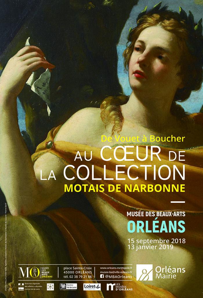 Journées du patrimoine 2018 - De Vouet à Boucher, au coeur de la collection Motais de Narbonne