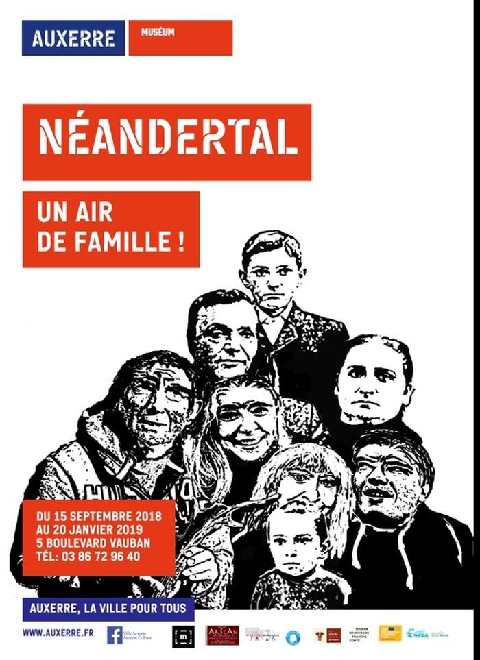 Journées du patrimoine 2018 - Exposition Néandertal, un air de famille