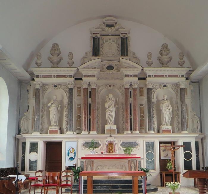 Journées du patrimoine 2018 - Exposition dans l'église de Saint-Bômer les Forges