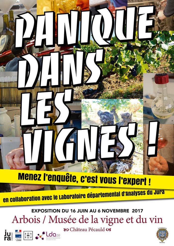 Journées du patrimoine 2017 - Exposition Panique dans les vignes ! Menez l'enquêe, c'est vous l'expert