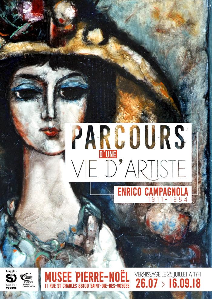 Journées du patrimoine 2018 - « Parcours d'une vie d'artiste : Enrico Campagnola (1911-1984) »