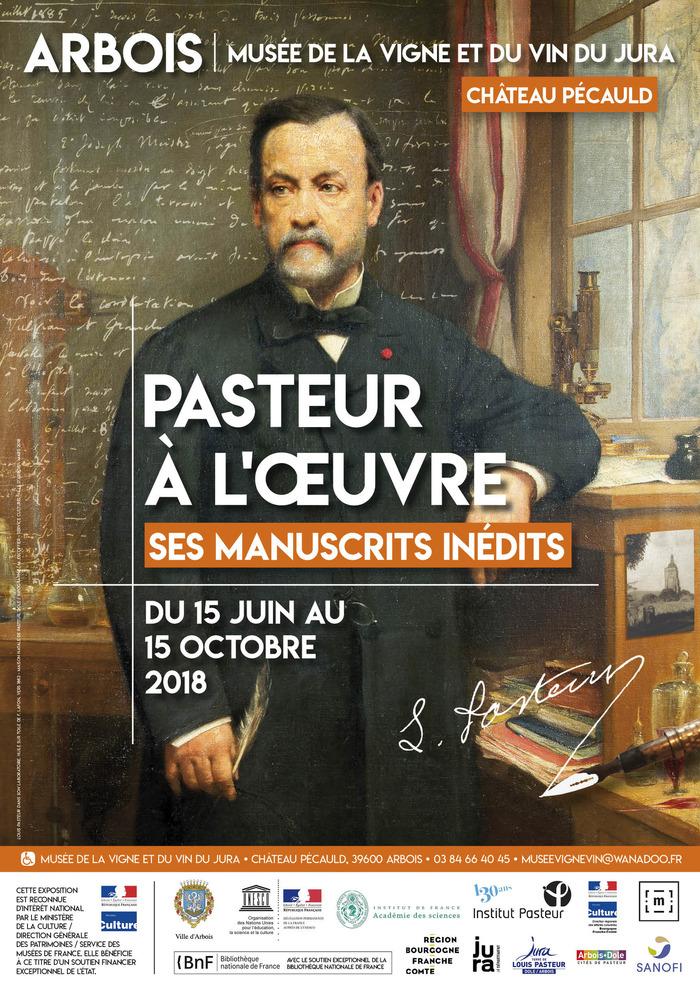 Journées du patrimoine 2018 - Exposition Pasteur à l'oeuvre : ses manuscrits inédits