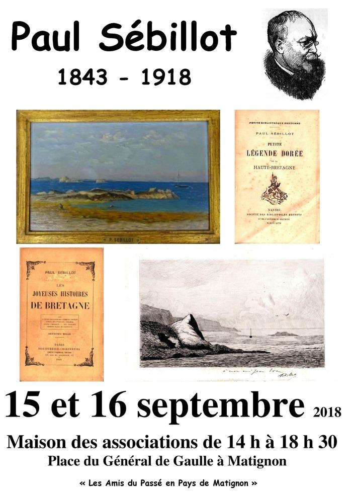 Journées du patrimoine 2018 - Exposition Paul Sébillot à l'occasion du centenaire de sa mort