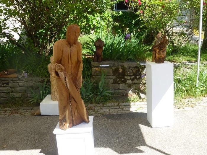 Journées du patrimoine 2018 - Exposition peinture sculpture à la chapelle du village