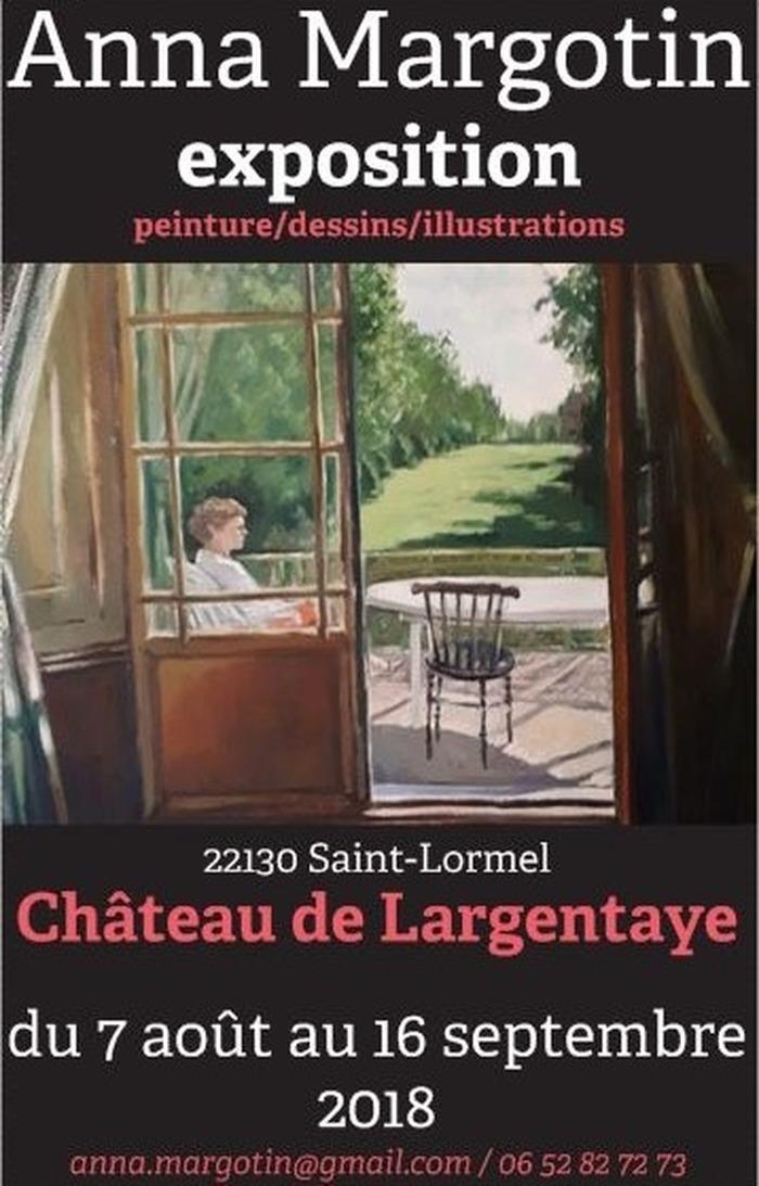 Journées du patrimoine 2018 - Exposition de toiles et dessins créés en