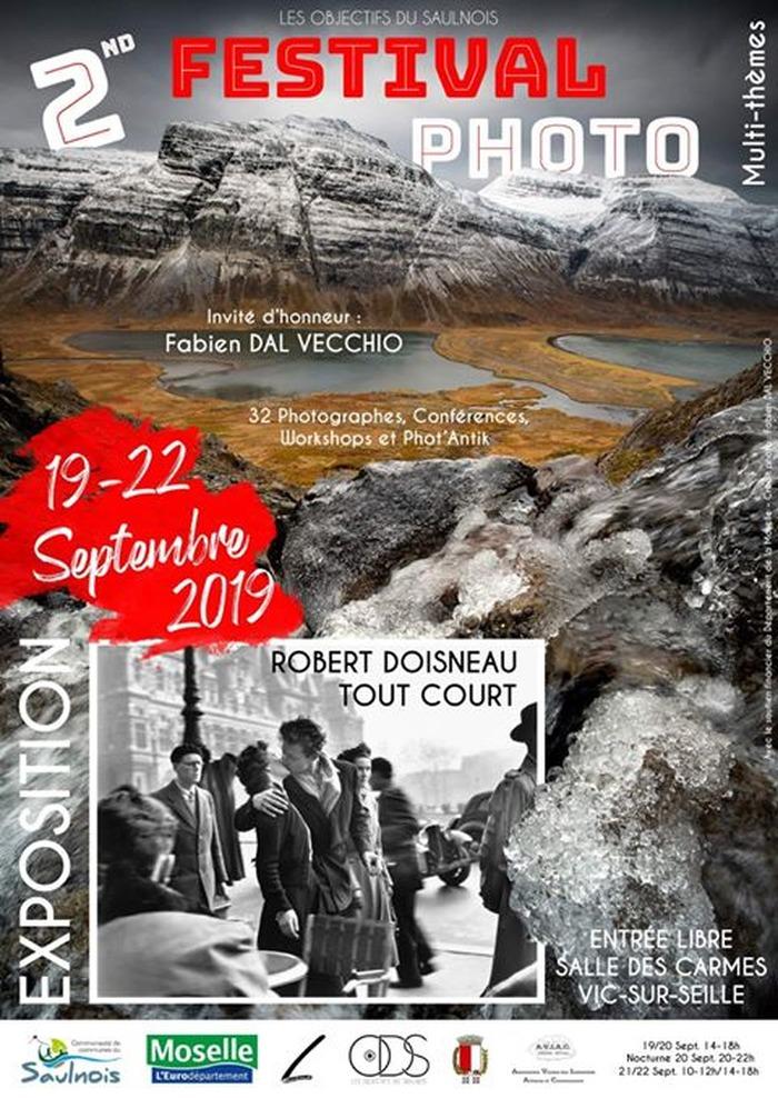 Journées du patrimoine 2019 - Exposition photo à Vic sur Seille