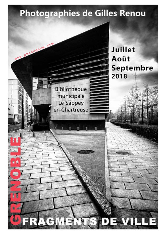Journées du patrimoine 2018 - Exposition «Grenoble, fragments de ville».