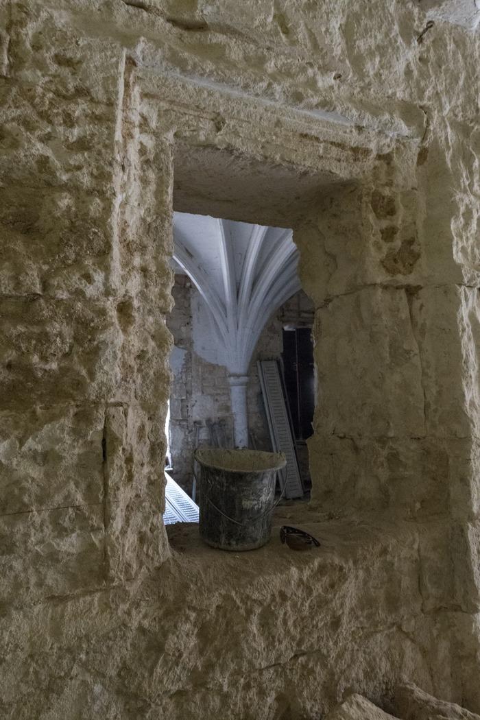 Journées du patrimoine 2018 - Exposition photographique de Melkan Bassil sur le chantier de réhabilitation du château de Melgueil