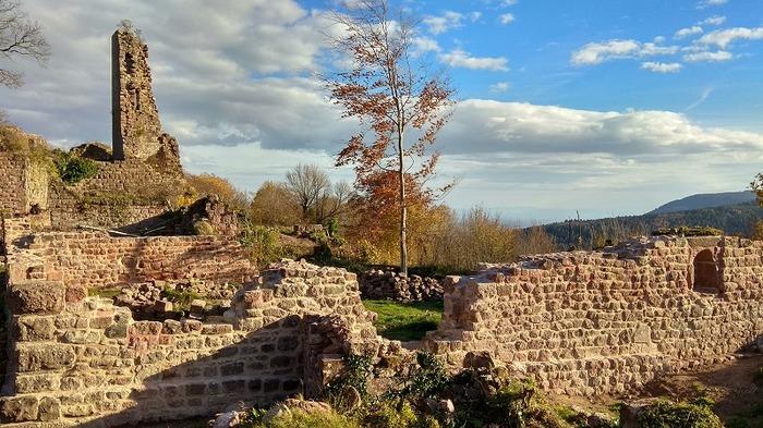 Journées du patrimoine 2018 - Exposition au château de Guirbaden