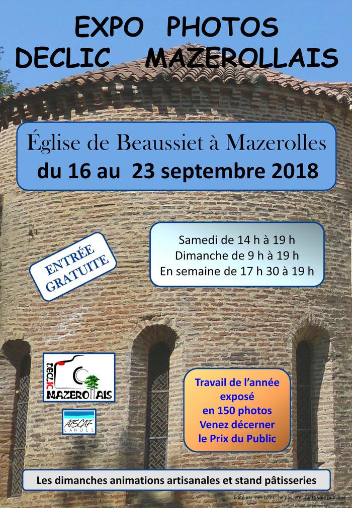 Journées du patrimoine 2018 - Exposition de photographies Beaussiet