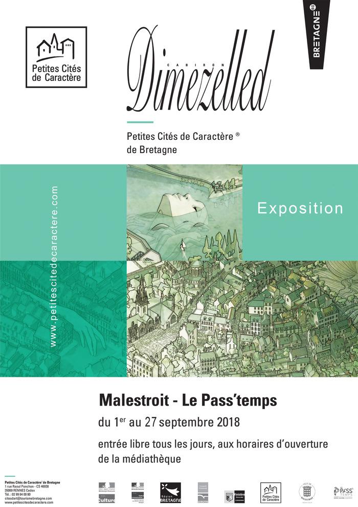 Journées du patrimoine 2018 - Exposition Plans Cavaliers – Dimezelled, par Damien Cabiron.