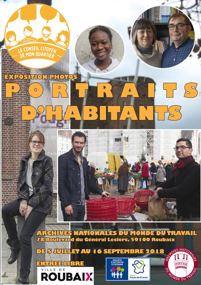 Portraits d'habitants centre