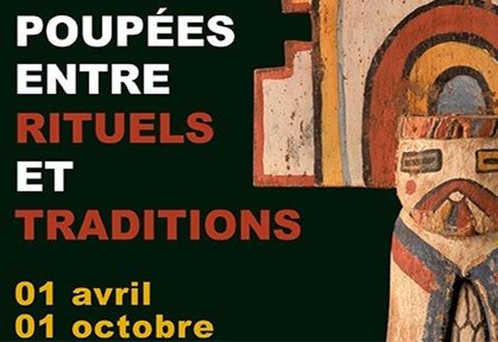 Journées du patrimoine 2017 - Exposition : Poupées entre rituels et traditions