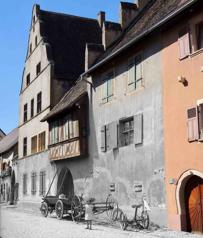Crédits image : Archives de Strasbourg (Fonds L. Blumer) / Ville de Rouffach