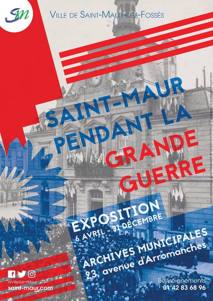 Journées du patrimoine 2018 - Exposition Saint-Maur dans la Grande Guerre