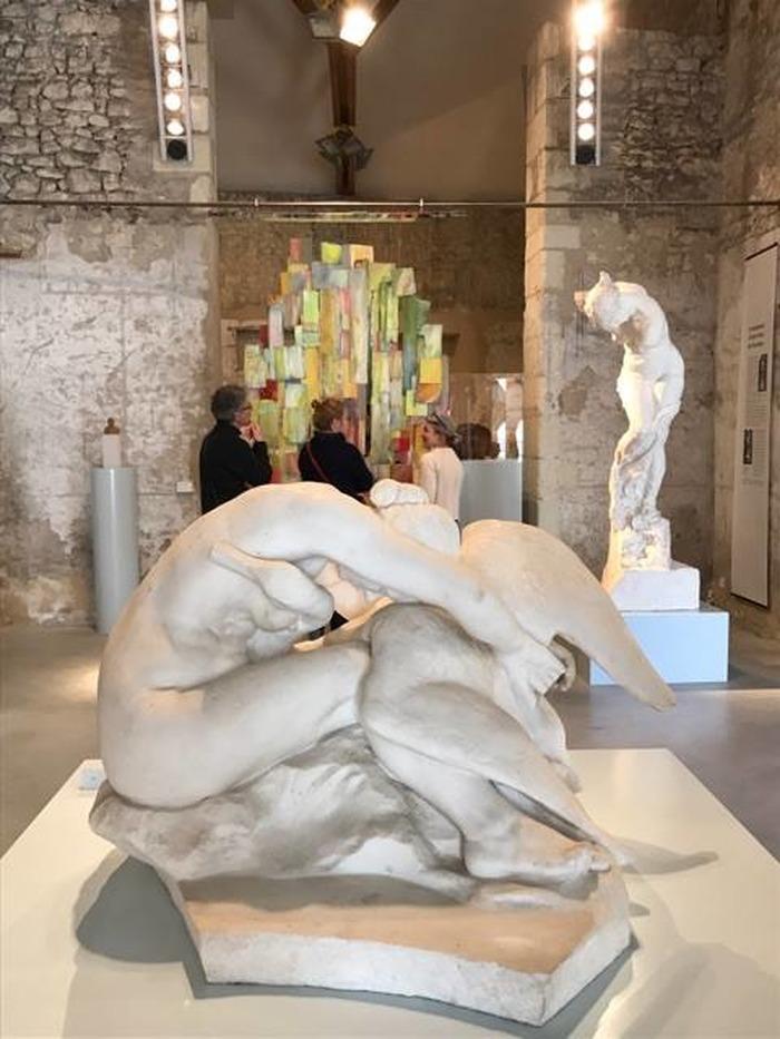Crédits image : Anne Auguste au musée Jules-Desbois, DAMM