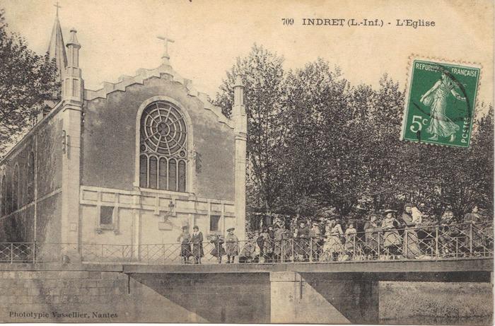 Crédits image : Phototypie Vasselier Nantes Collection Indre Histoire d'îles