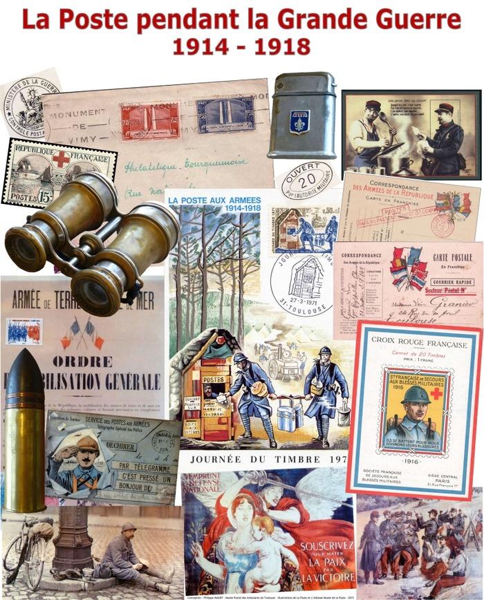 Journées du patrimoine 2018 - Exposition sur le fonctionnement de la Poste au cours de la Grande Guerre