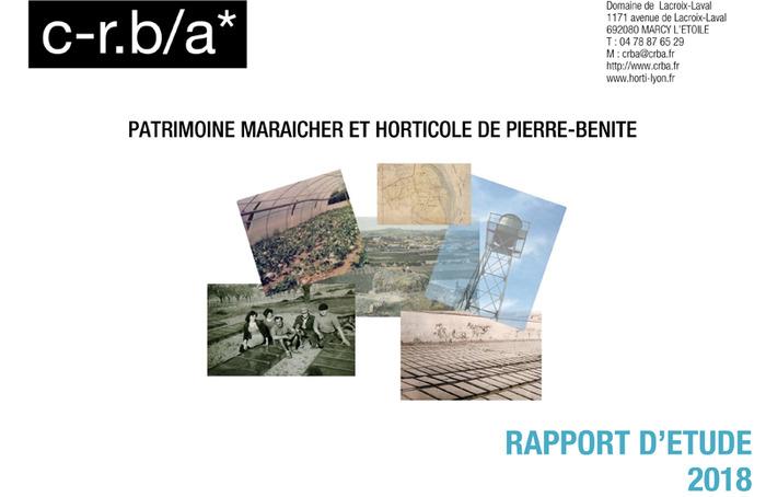 Journées du patrimoine 2018 - Exposition sur le patrimoine maraîcher et horticole de Pierre-Bénite.