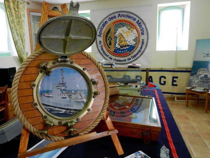 Journées du patrimoine 2018 - Exposition sur le TCD Orage (1967-2007), ancien bâtiment de la Marine Nationale