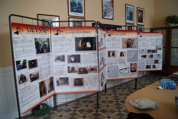 Journées du patrimoine 2018 - Exposition sur les souterrains des Hauts de France