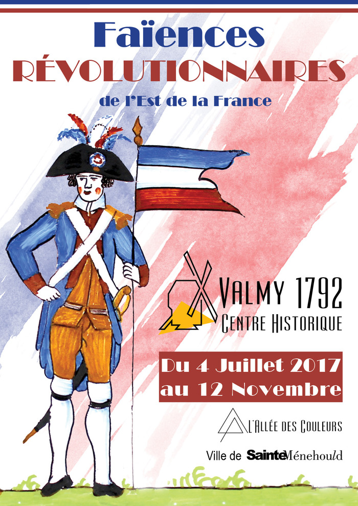 """Exposition temporaire """"Les faïences révolutionnaires de l'Est de la France"""""""