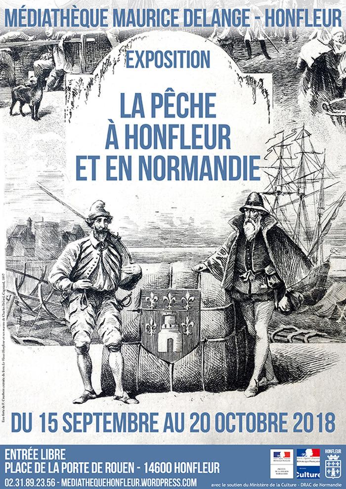 Journées du patrimoine 2018 - Exposition - Trésors du fonds patrimonial : la pêche à Honfleur et en Normandie
