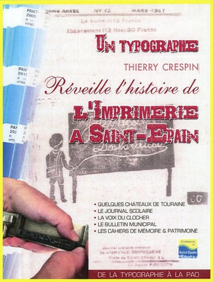 Journées du patrimoine 2018 - Un typographe réveille l'histoire de l'imprimerie à Saint-Épain