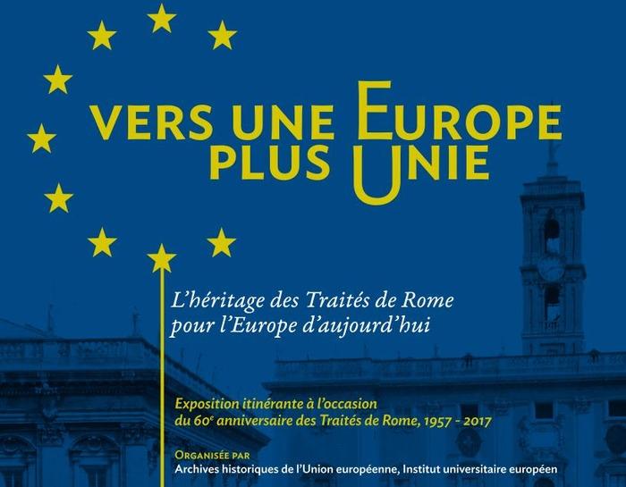 Exposition « Vers une Europe plus Unie – L'héritage des traités de Rome » à Montmoreau