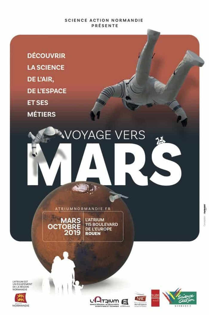 Exposition Voyage vers Mars