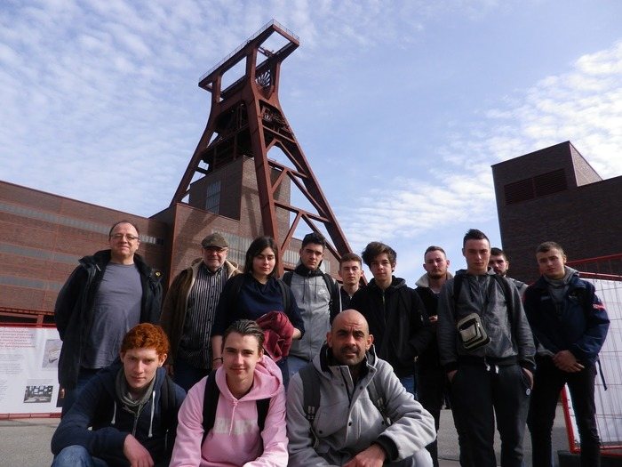 Exposition Voyages d'études des apprentis en Allemagne - CFA Le Moulin Rabaud