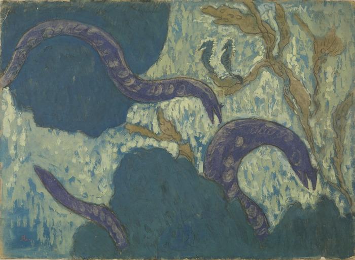 Exposition Vues sur mer. Jean Francis Auburtin - Mathurin Méheut